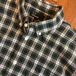 Fred Perry plaid dress shirt